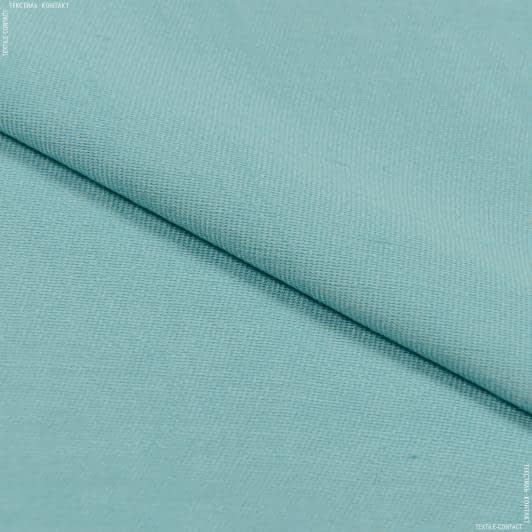 Ткани для платьев - Плательная Вискет-1 Аэро бирюзовый