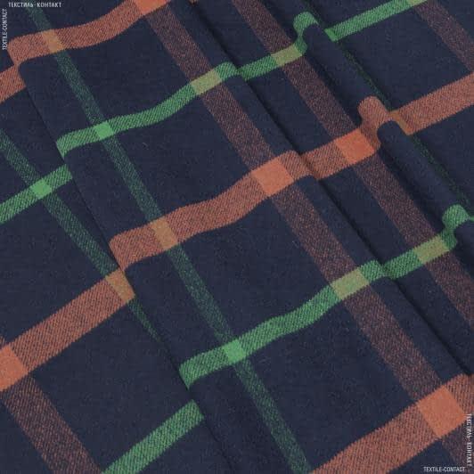 Ткани для верхней одежды - Пальтовая в клетку