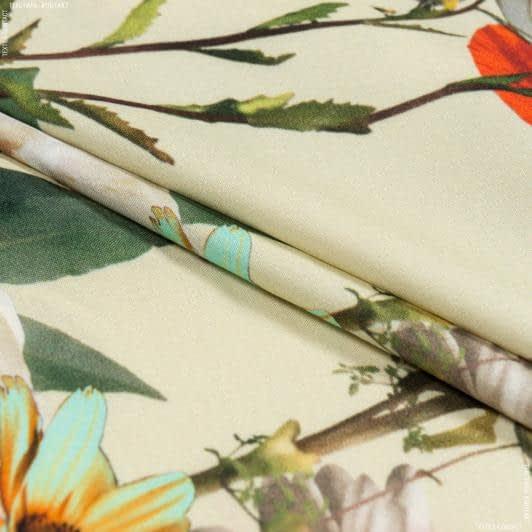 Тканини для суконь - Платтяна джаванез принт