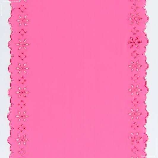 Ткани фурнитура и аксессуары для одежды - Кружево 30см розовый