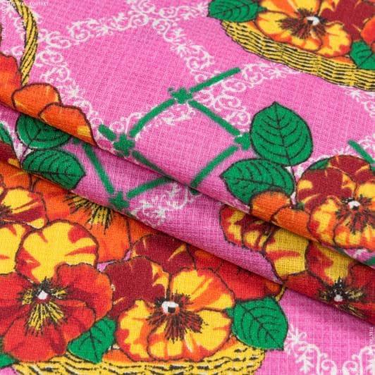 Ткани для полотенец - Ткань полотенечная вафельная набивная