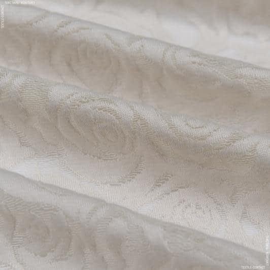 Ткани для костюмов - Трикотаж фукро молочный