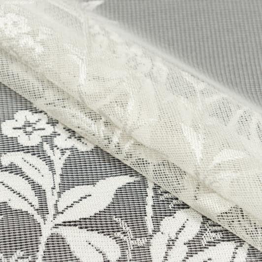 Ткани гардинные ткани - Гардинное полотно гипюр шампань