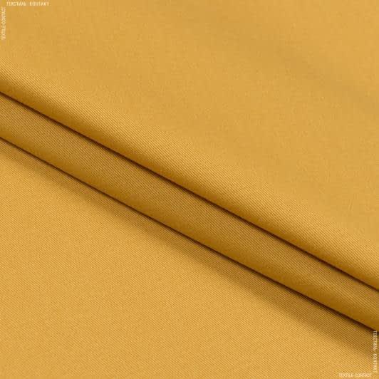 Тканини для банкетних і фуршетніх спідниць - Декоративний сатин гандія/gandia гірчиця