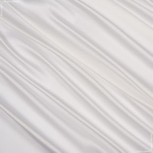 Ткани для платков и бандан - Шелк искусственный светло-молочный