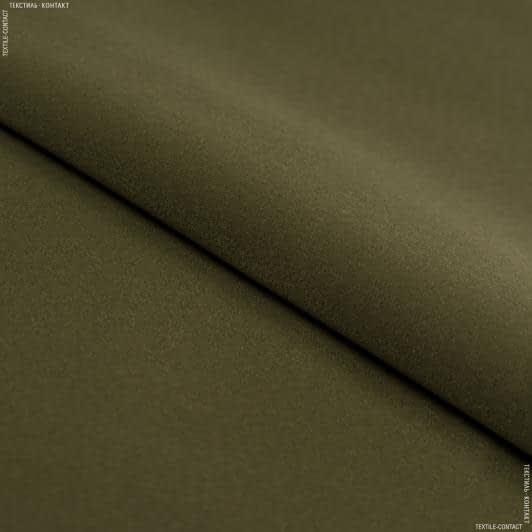 Ткани для рукоделия - Замша искуственная лайт темно-оливковый