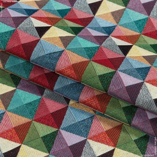 Ткани для декоративных подушек - Декор-гобелен  абстракция мадисол /madisol  мультиколор