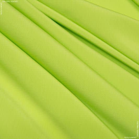 Тканини для штанів - Костюмний мокрий шовк салатовий