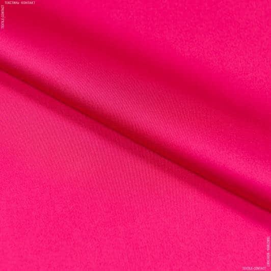 Ткани для платьев - Шелк искусственный стрейч малиновый