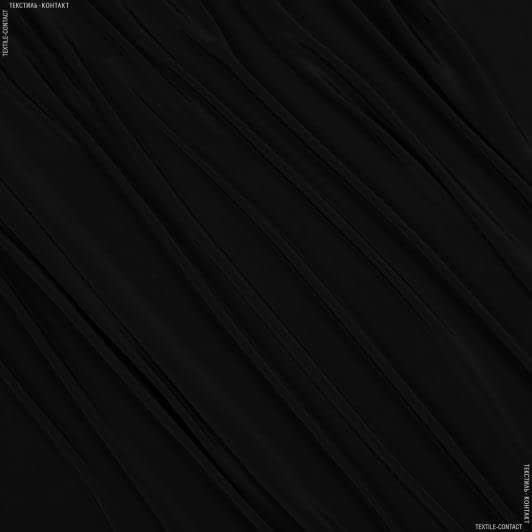 Тканини для хусток та бандан - Креп кошибо чорний