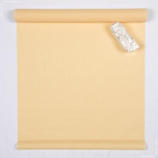 Тканини ролети - Ролет міні фактурний золото  98х150
