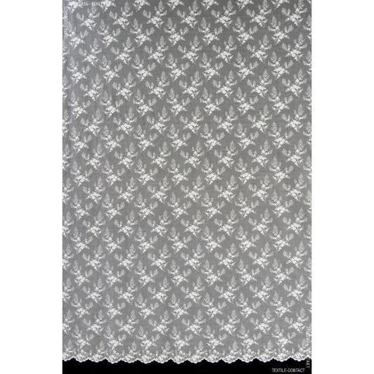 Тканини гардинні тканини - Гард пол гіпюр дрібна квітка крем
