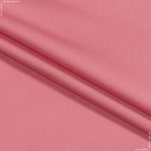 Тканини для штанів - Котон-сатин лайт стрейч світло-кораловий