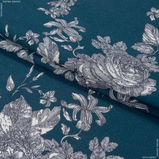 Тканини для хусток та бандан - Платтяний креп принт