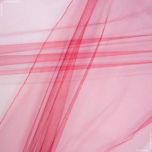 Тканини для суконь - Фатин блискучий бордовий