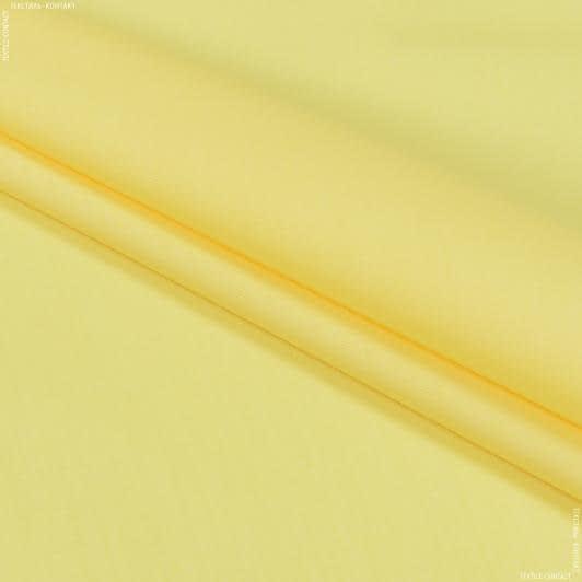 Ткани для платьев - Сорочечная светло-желтый