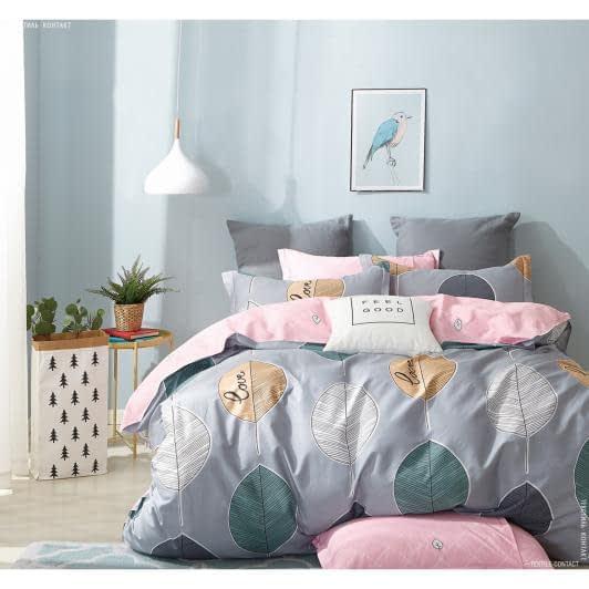 Ткани комплект постельного белья - Кпб сатиновый полуторный редвуд