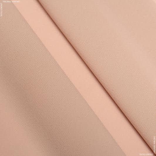 Тканини для хусток та бандан - Шифон стрейч темно-бежевий