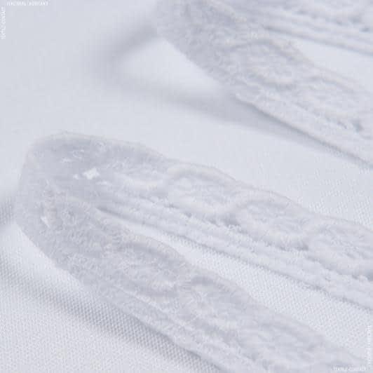 Тканини фурнітура і аксесуари для одягу - Вікторіанське мереживо 1.5см білий