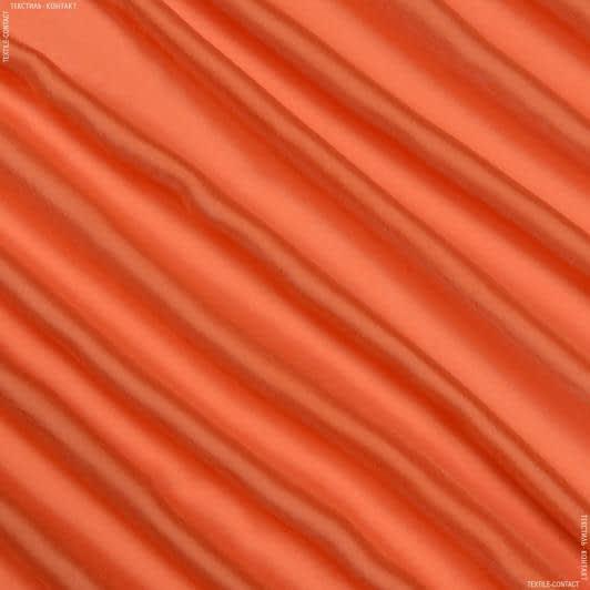 Ткани для платков и бандан - Шифон-шелк натуральный оранжевый