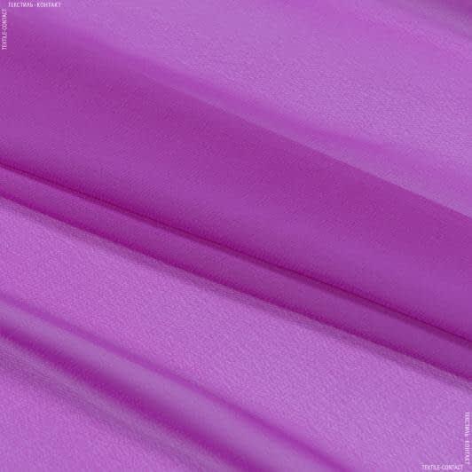 Ткани для платков и бандан - Шифон мульти фуксия