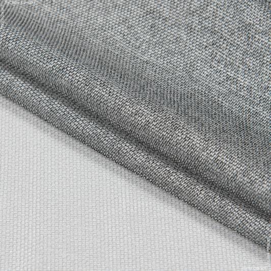 Ткани для тюли - Тюль   кармен купон полоса экрю, т.серый
