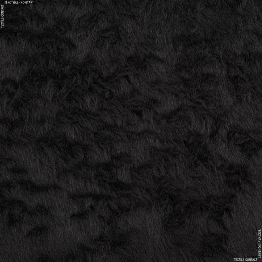 Ткани для спец.одежды - Мех обувный черный