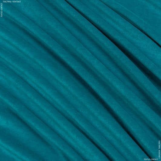 Тканини для дитячого одягу - Велюр темно-бірюзовий