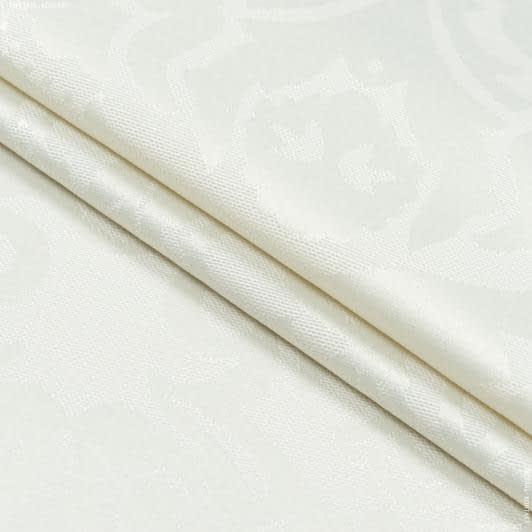 Тканини для скатертин - Тканина з акриловим просоченням вісконті крем