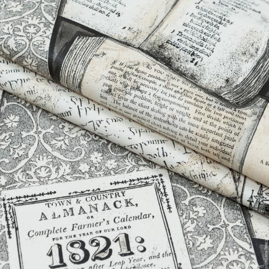 Тканини horeca - Тканина з акриловим просоченням трібеса книги