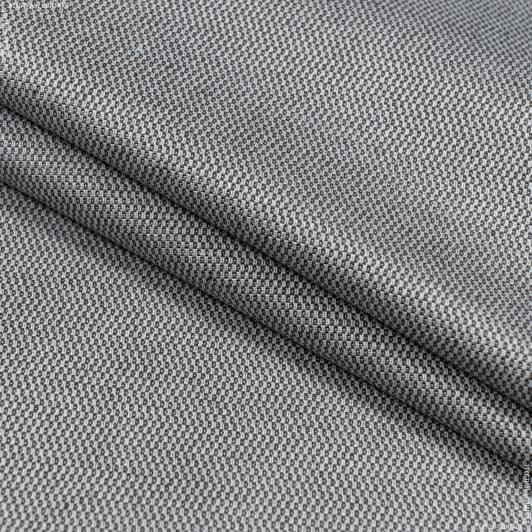 Тканини для скатертин - Тканина з акриловим просоченням морісот/ morissot рогожка т.сірий