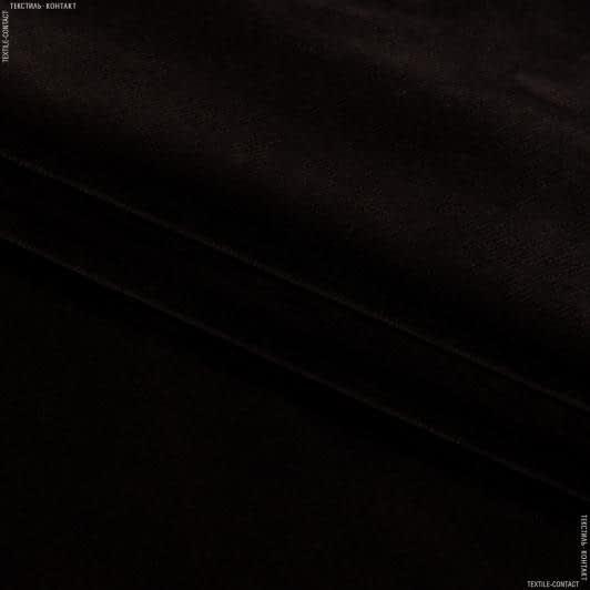 Ткани horeca - Велюр с огнеупорной пропиткой метро / metro  т. Шоколад сток