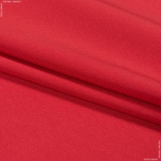 Тканини для костюмів - Костюмна тесла червоний