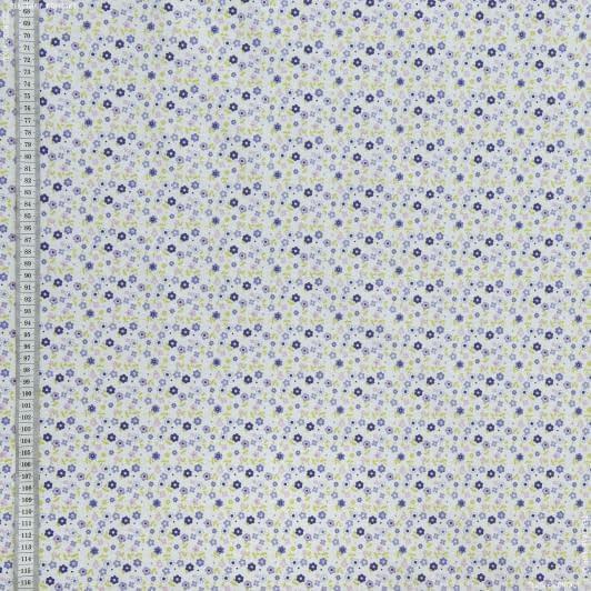 Тканини для дитячого одягу - Екокотон веснат.фіолет,фуксія