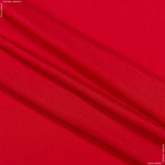 Тканини для хусток та бандан - Крепдешин червоний