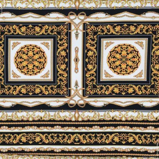 Ткани для платьев - Трикотаж масло принт
