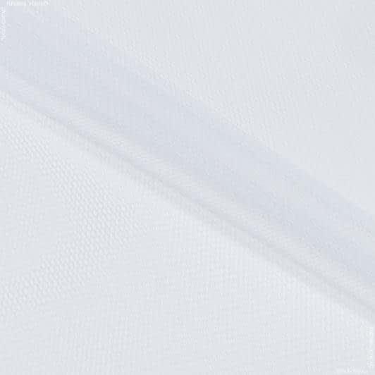 Ткани для блузок - Фатин жесткий белый
