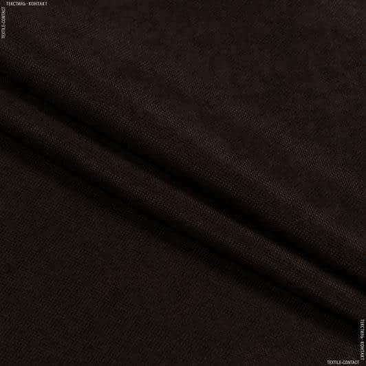 Тканини портьєрні тканини - Декор-нубук  арвин 2 даймонд  / diamond  шоколад