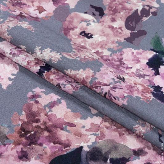 Ткани для платьев - Плательная джаванез принт