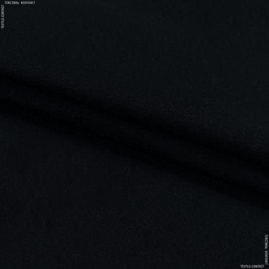 Ткани для костюмов - Коттон yakamoz черный