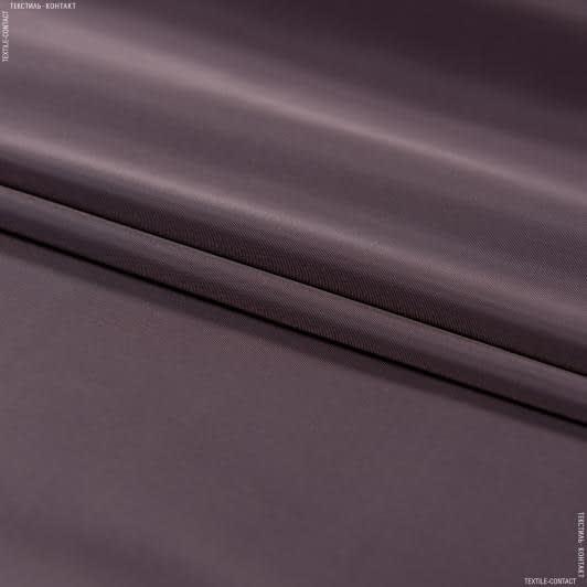 Ткани для верхней одежды - Плащевая глация палево-бордовый