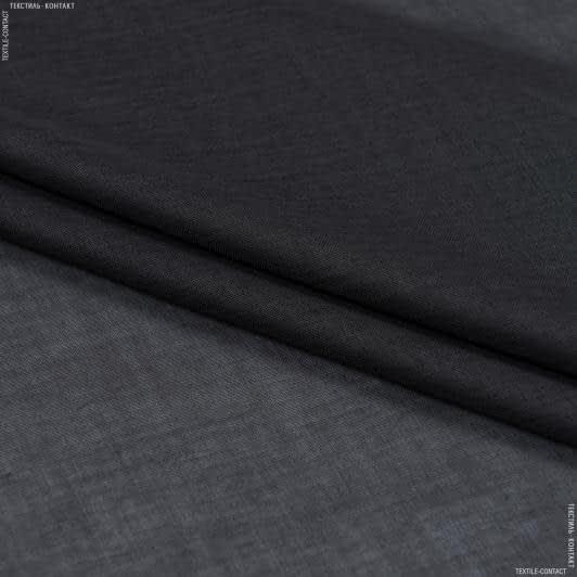 Тканини для драпірування стін і стель - Тюль  батист  люсент/lucent графіт