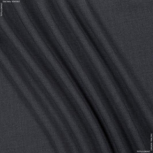 Тканини для штанів - Костюмна піке меланж темно-сірий