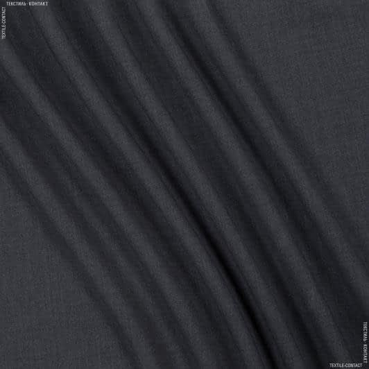 Ткани для брюк - Костюмная пике меланж темно-серый
