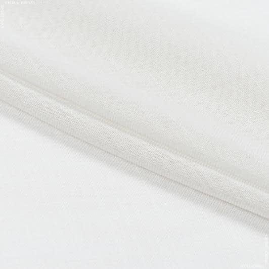 Ткани для тюли - Тюль с утяжелителем виктория /victoria крем-брюле