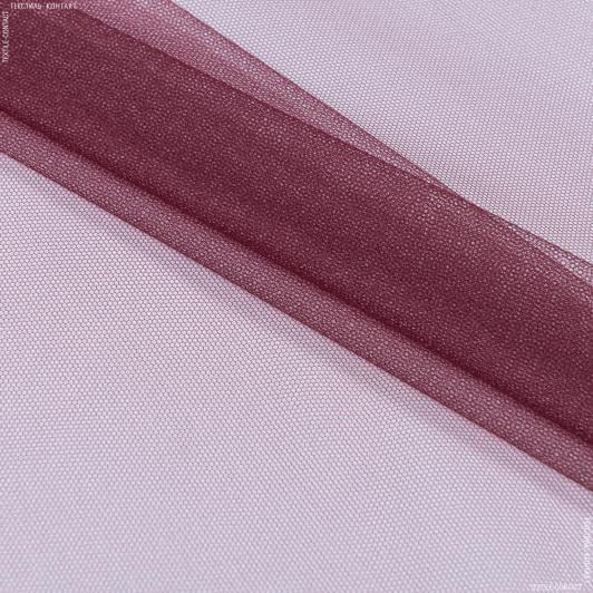 Тканини для суконь - Фатин вишневий