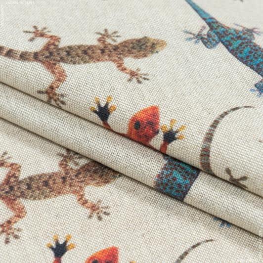 Ткани портьерные ткани - Декоративная ткань  саламандра/salamandra  фон натуральный