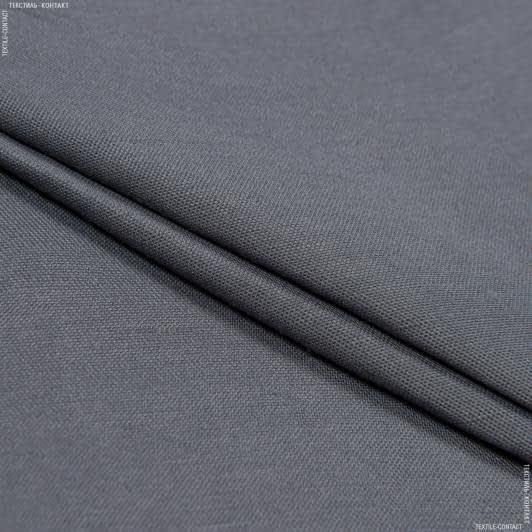 Тканини для костюмів - Платтяно-костюмна віскет сірий