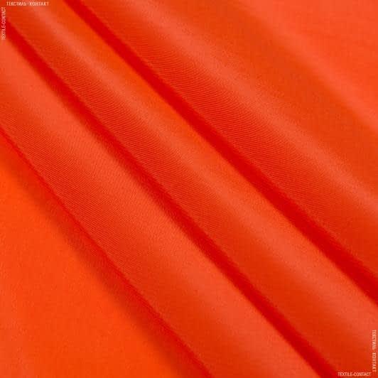 Ткани креп - Креп кошибо темно-оранжевый