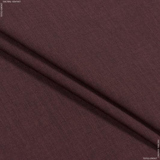 Тканини для суконь - Сорочкова меланж темно-бордовий